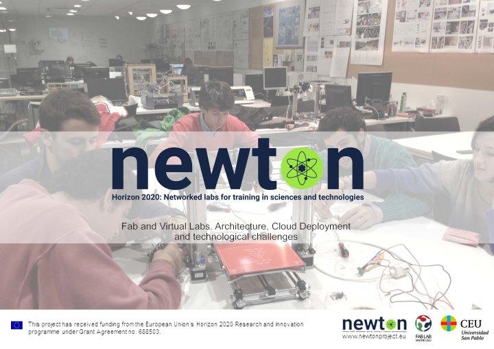 Cartel Newton franja transparente